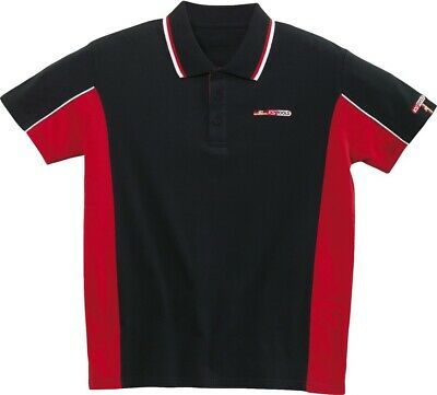 KS Tools Polo-Shirt-schwarz-rot, M