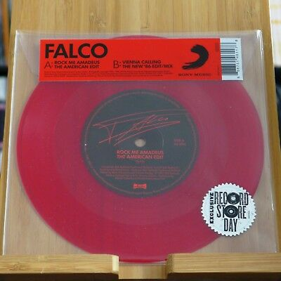 "Falco - Rock Me Amadeus/Vienna Calling / 7"" limited red RSD Black Friday"