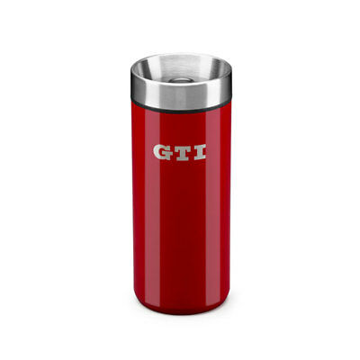 VW GTI Thermobecher 5KA069604 Rot 0,4l Edelstahl Thermobecher Isolierbecher Mug
