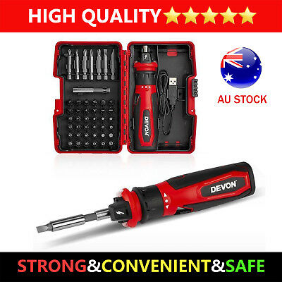 4V Multifunctional Cordless Mini Electric Household Rechargeable Screwdriver Set