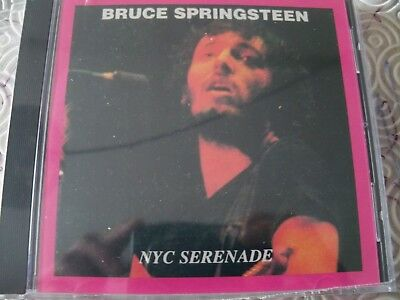 """Bruce Springsteen """"Nyc Serenade"""" Cd Live Main Point, Bryn Mawr 1973 Rsc020 New"""