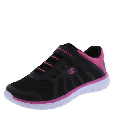 08a04ef2d86072 NWT-GIRLS CHAMPION GUSTO Black Pink Memory Athletic Running Shoes-sz ...
