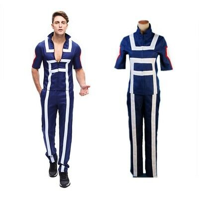 My Hero Academia Boku no Hero Academia Kohei Horikoshi Gym Cosplay Costume USA