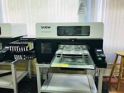 Brother GT-3 Series T-shirt Tee  printer Runs perfect Direct to garment ink