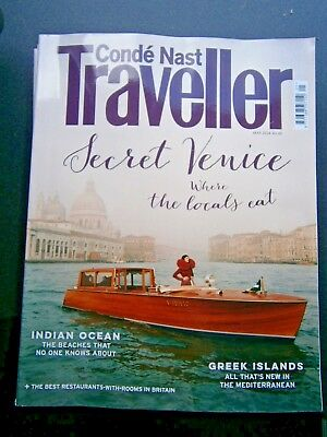 Conde Nast Traveller Magazine May 2018 (new)