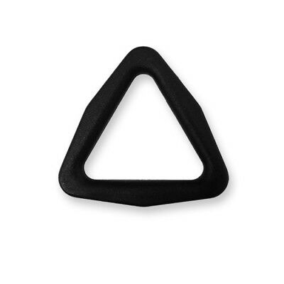 25mm Strong Plastic Triangle D Tri Ring Buckle Clip for Webbing Straps or Banner