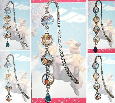 UP Bookmark Book Mark Pendant Disney Pixar The Movie Russell Kevin Balloon House