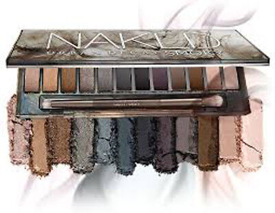 PALETTE NAKED URBAN DECAY SMOKY Palette Ombretti 12 colori Eyes Shadow +pennello