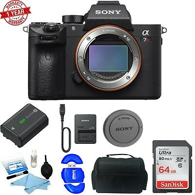 Sony Alpha a7R III Mirrorless Digital Camera (Body Only) STARTER KIT