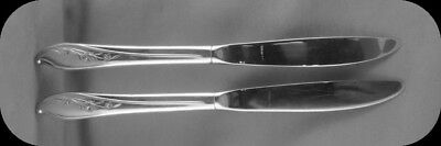1847 Rogers Springtime Dinner Knives 2 (2 sets of 2 available)