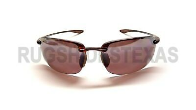 NEW Maui Jim Ho'okipa Polarized Sunglasses Tortoise Maui Rose R407-10