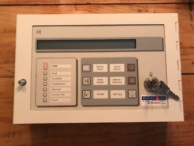 709-601-001 Morley IAS Fire System ZX Active Repeater