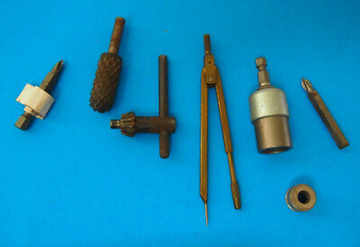 Lot of ASSORTED Drill Bits, GRINDING AND DRAFTING CHUCK