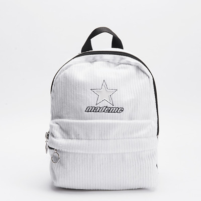 9d49fc60978 Converse x MadeMe Super Mini Backpack in White 10007737-A03 Free Shipping  NWT