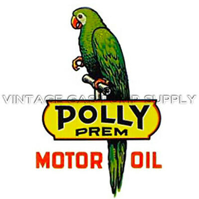 "Polly Motor Oil 10.5"" Water Transfer Decal (DW404)"