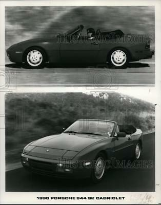 1990 Press Photo Porsche 944 S2 Cabriolet - cvp86121