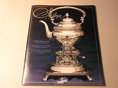 Silver Magazine May/june 2008 Vol Xl #3 Howard & Co Kettle 1901
