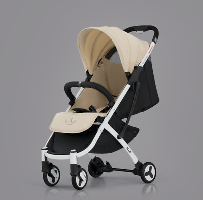 Allis Pushchair 2in1 Buggy Baby Pram Newborn Stroller Travel System - Grey