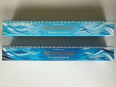 NESPRESSO ON ICE ISPIRAZIONE SALENTINA LIMITED EDITION 5 sleeves 50 capsules