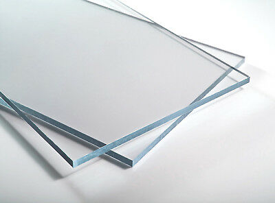 Polycarbonate / Lexan  Sheet Clear A4 297 x 210 x 2mm