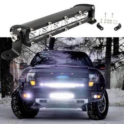 7 inch 18W LED Light Bar Combo Beam Work Off road Truck Boat SUV 4WD Fog Jeep