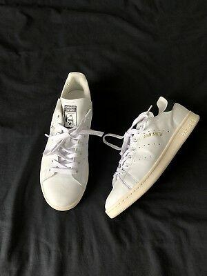 Brand New Adidas Originals Stan Smith White Leather Mens Shoes Size10 Us