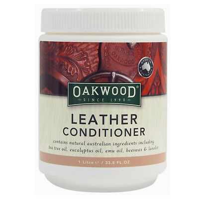 Oakwood Leather Conditioner For Boots, Shoes, Saddles - Multiple Sizes Available