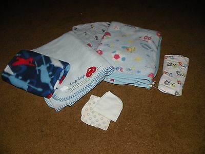 Little boys blanket collection - pre-owned