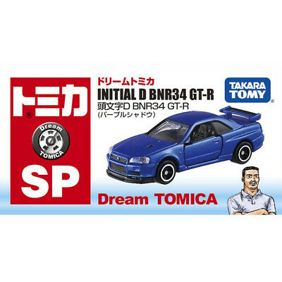 Takara Tomy / Dream Tomica Purple Shadow SP Initial D GT-R R34 / Kozo Hoshino