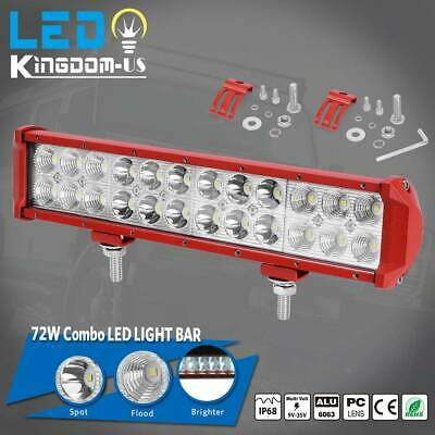 """18 inch LED Work Light Bar Combo Beam Offroad SUV 4X4 Driving For Truck Jeep 17"""""""