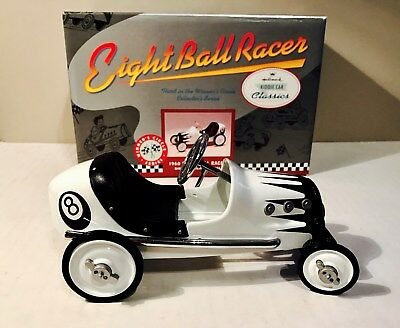 1960 Eight Ball Racer pedal car, die-cast model- third in series-free shipping