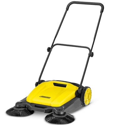 new Karcher S650 Manual PUSH SWEEPER 650mm with Dual Side Brush 1.766-300.0