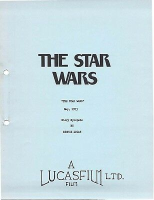 Star Wars Script Collection! *Includes Drafts, Revisions, and Original Synopsis*