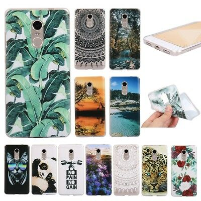 For Xiaomi Redmi Note 4 4X 3S 4A 4 Prime 5 Plus Soft Painted TPU Back Case Cover