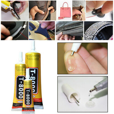 T8000 Multi purpose Adhesive glass touch screen panel frame fixing glue 15-110ml