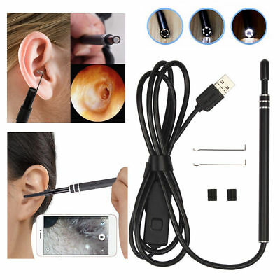 Ear Cleaning Tool Earwax Removal Kit Visual Ear Inspection Endoscopic Pen Camera