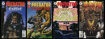 Predator Captive Jungle Tales Invaders from 4th Dimension Strange Roux Comic Lot