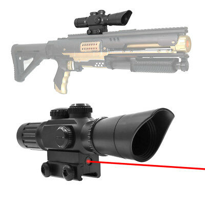 Tactical Distance Scope 1.5X Sight with Pointer for Nerf Blaster MOD Modify Toy