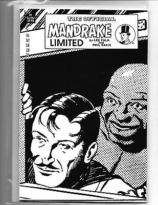 The Official Mandrake Limited #1 Lee Falk Pioneer Press Bookshelf Format