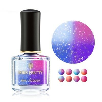 6ml BORN PRETTY Thermolack Farbwechsel Nagellack Peel Off Thermal Nail Polish