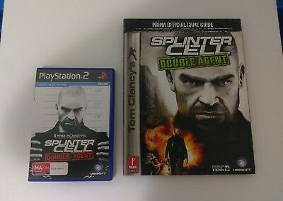 Splinter Cell Double Agent PS2 + Game Guide  As New Condition