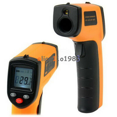 GM320 NonContact LCD IR Laser Infrared Digital Temperature Thermometer tool;