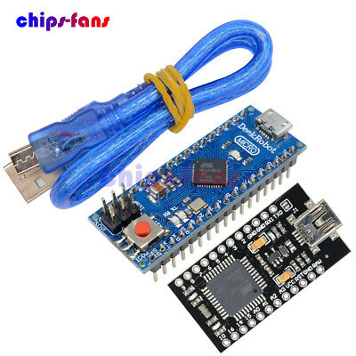 ATmega32U4 5V 16MHz Pro Micro Controller Replace ATmega328 Pro Mini with Cable