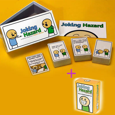 HOT Joking Hazard Card Game Board Game Klondike Breaking Table Adult Games