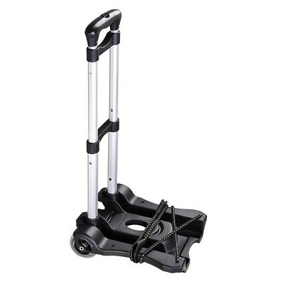 Foldable Shopping Trolley Aluminum Collapsible Luggage Cart Hand Travel Truck