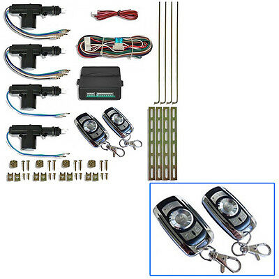 Kit De Cierre Centralizado Distancia Diseño Peugeot 207 Active Access Business