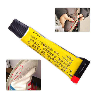 18ml Super Adhesive Repair Glue For Leather Shoes Rubber Canvas Tube Strong Bond