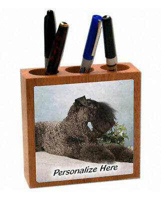 Kerry Blue Terier   ( 6 )   Personalized  Pencil and Pen Holder
