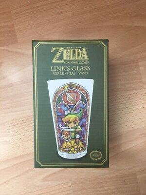 Offiziell The Legend of Zelda Collectors Edition Glas mit Verknüpfung Design -