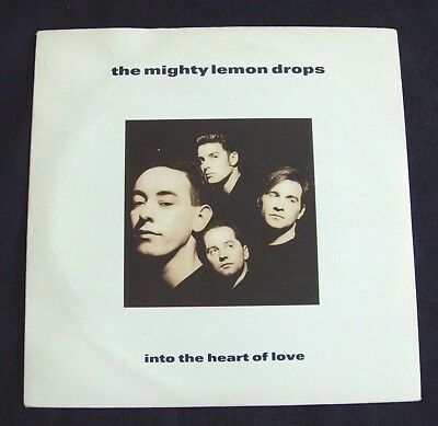 The Mighty Lemon Drops - Into The Heart Of Love - 1989 CHRYSALIS (VG+/EX)
